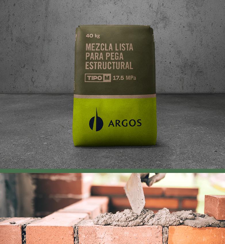 Usos Mezcla Lista para Pega Estructural - Cementos Argos