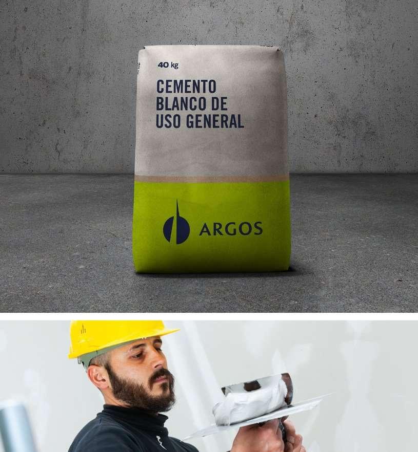cemento Argos de usos general mienstras es usado en una obracemento Argos de usos general antes de ser usado en una pared