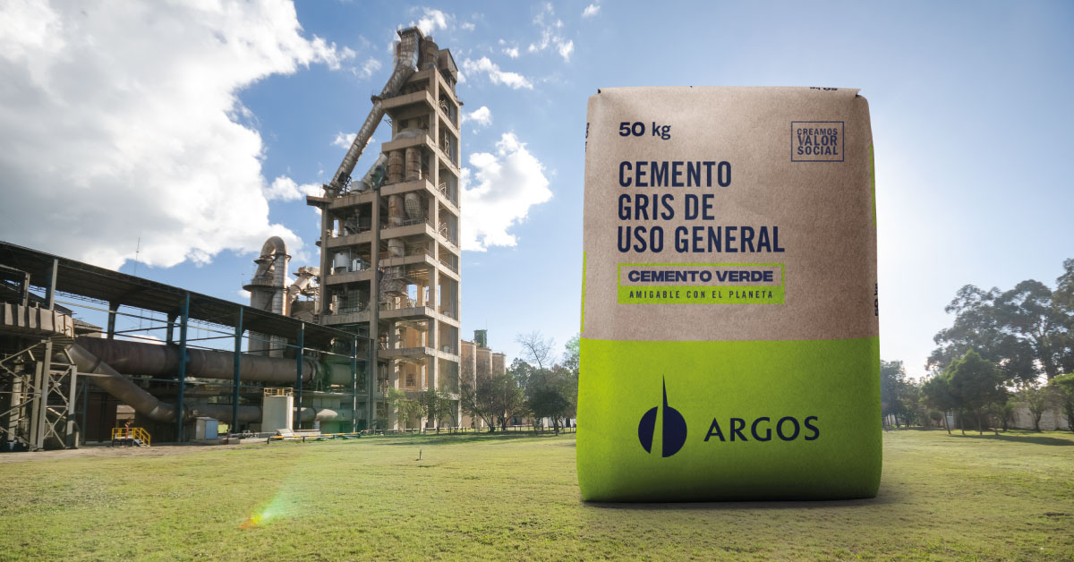 El cemento gris uso general de Planta Sogamoso es más amigable con el planeta
